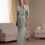Vestido para senhoras discretas e elegantes. (Foto:Divulgação)