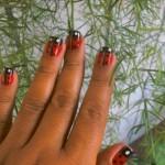 Joaninhas decoram as unhas. (Foto:Divulgação)