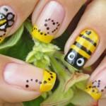 Abelhas ilustram as unhas. (Foto:Divulgação)