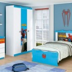 Homem Aranha inspirou a decoração do quarto infantil. (Foto:Divulgação)