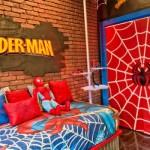 Ambiente divertido e lúdico do Homem Aranha. (Foto:Divulgação)