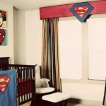 Quarto de bebê decorado com o tema Super-Heróis. (Foto:Divulgação)