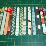 Os palitos de picolé podem ser marcadores de páginas. (Foto: divulgação)