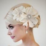 Acessórios de cabelo para noivas 2013