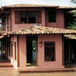A fachada da casa é o seu cartão de visita (Foto: Divulgação)