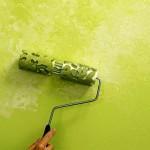 O rolo texturizado é um tipo de decoração simples e fácil de ser feita. (Foto: divulgação)