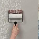 O rolo texturizado é uma excelente forma de decorar a parede da casa. (Foto: divulgação)