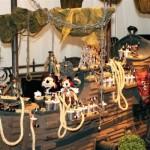 """""""Piratas do Caribe"""" alegram a decoração. (Foto:Divulgação)"""