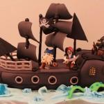 """Bolo de aniversário inspirado em """"Piratas do Caribe"""".  (Foto:Divulgação)"""