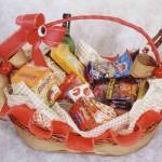 É possível incluir várias delícias na cesta caseira. (Foto: Divulgação)
