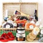 A cesta de Natal precisa ser apetitosa e organizada. (Foto:Divulgação)