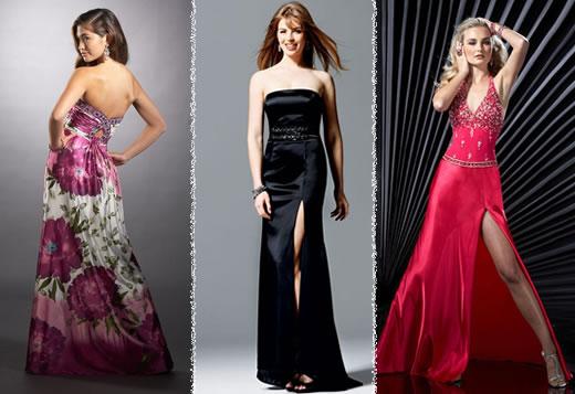 Modelos de vestidos coloridos para o Réveillon 2015 (Foto: Divulgação)