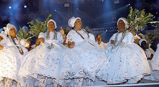 As Baianas são presenças no Réveillon 2016 na Bahia (Foto: Divulgação)