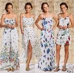 Vestidos estampados tendências para o Réveillon 2016 (Foto: Divulgação)