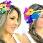 Enfeites de cabeça para carnaval. (Foto: Divulgação)