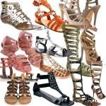 Sandália gladiadora: dicas, como usar