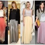 As saias longas estão na moda. (Foto: divulgação)