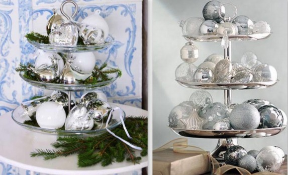 Enfeites prateados combinam com o Ano Novo. (Foto:Divulgação)
