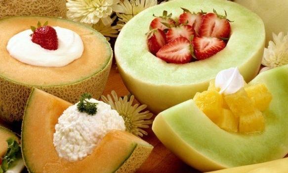 Decoração com frutas. (Foto:Divulgação)