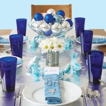 A mesa da ceia de Ano Novo arrumada. (Foto:Divulgação)