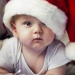 Bebê comemorando o Natal (Foto: Divulgação)