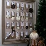 O calendário serve para contar os dias, de 1º a 24 de dezembro. (Foto:Divulgação)