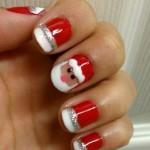 O Papai Noel pode decorar as suas unhas (Foto: Divulgação)