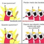 Medo de baratas (Foto: Divulgação)