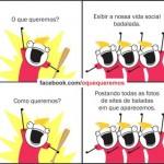 Compartilhando a vida social (Foto: Divulgação)