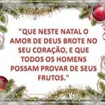 Bela mensagem de Natal para Facebook (Foto: Divulgação)