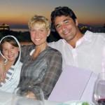 Xuxa e Luciano Szafir também faziam o estilo casal ioiô (Foto: Divulgação)