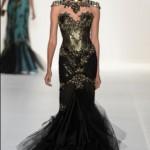 Vários modelos de vestido de festa prometem fazer sucesso.  (Foto: divulgação)