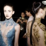 Vários modelos de vestidos foram apresentados no SPFW.  (Foto: divulgação)
