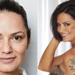 Luma de Oliveira bem diferente sem maquiagem (Foto: Divulgação)