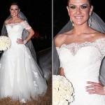 O vestido de noiva escolhido deve valorizar o estilo da mulher. (Foto:Divulgação)