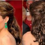 Penteado para madrinha de cabelo médio. (Foto: divulgação)