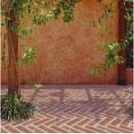 Foi-se o tempo em que o tijolo era uma exclusividade da parede. (Foto:Divulgação)