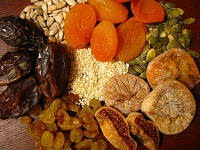 As frutas secas são fáceis de serem carregadas, além de fazerem bem à saúde (Foto: Divulgação)