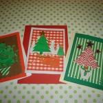 Procure fazer um cartão de Natal personalizado com recortes (Foto: Divulgação)