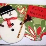 Mais um exemplo de cartão personalizado de Natal (Foto: Divulgação)