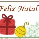 esse cartão de Natal é simples, mas elegante (Foto: Divulgação)