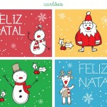Quatro exemplos divertidos de cartões de Natal (Foto: Divulgação)
