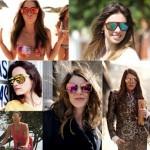 Muitos exemplos de óculos para esse verão nessa imagem (Foto: Divulgação)
