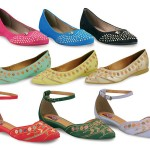 As sapatilhas receberam o nome das personagens de Salve Jorge (Foto: Divulgação)