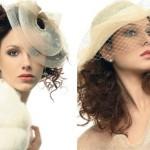 Não é só as convidadas que podem usar chapéus e alguns modelos ficam belíssimos em noivas. (Foto: divulgação)