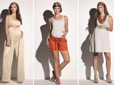 As grávidas podem usar roupas elegante e modernas (Foto: Divulgação)