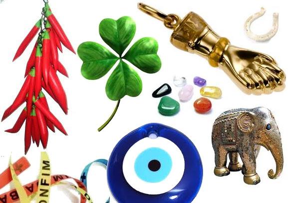 Amuletos para todo tipo de superstição (Foto: Divulgação)