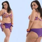 A moda plus size possui cortes reveladores, porém mais adequados às mulheres cheia de curvas. (Foto: divulgação)