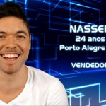 Nasser, 24 anos, mora em Porto Alegre (RS). Trabalha como vendedor. (Foto:Divulgação)