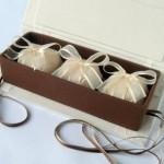 Caixa para três doces (Foto: divulgação)